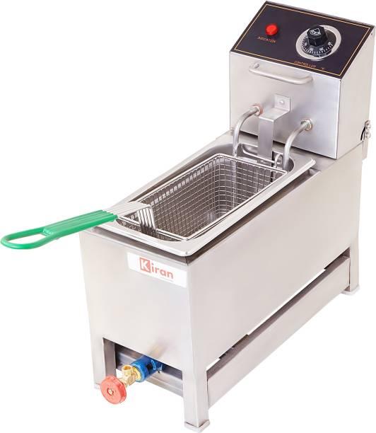 kiran 5 Liter Deep Fryer- Electric & Gas - 5 L Electric Deep Fryer