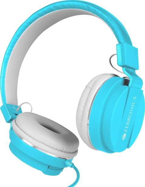 ZEBRONICS ZEB-STORM Multimedia with Mic Wired Headset
