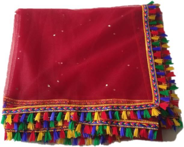 hariyanilace Multi colour lace with multicolor tassels MULTI color pompom tassels dupatta saree Lace Reel