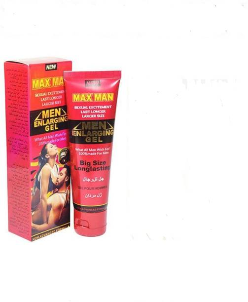 THE NIGHT CARE MAXMAN RED ENLARGING PERSONAL LUBRICANT GEL FOR MEN Lubricant