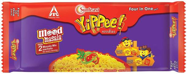 Sunfeast YiPPee! new mood masala four in one pack 280 gm Instant Noodles Vegetarian