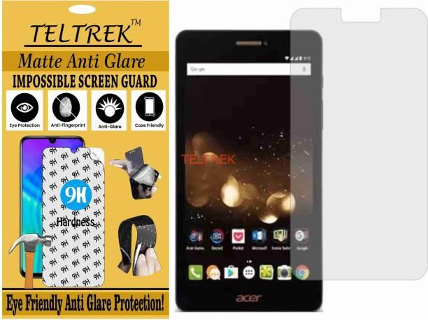 TELTREK Tempered Glass Guard for ACER ICONIA TALK S (Matte Flexible Shatterproof)