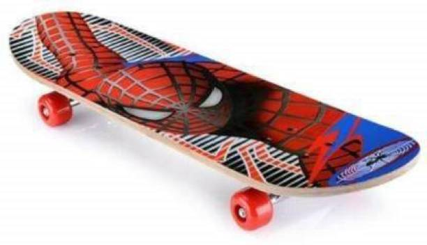 fizz SPIDER MAN SKATEBOARD 6 inch x 24 inch Skateboard
