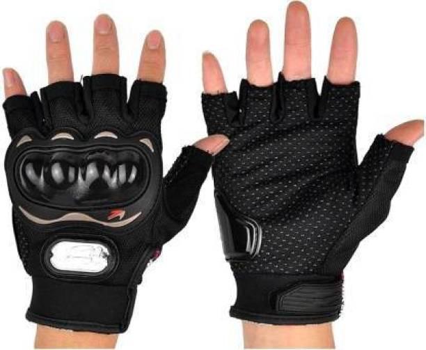 Panda Half Finger Riding Gloves for Biking Cycling Motorcycle Gym Riding Gloves