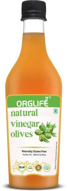 ORGLIFE Olive Vinegar 500 ml - Premium Filter (Jaitun Ka Sirka) Vinegar
