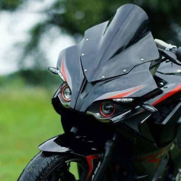 W 4 A Traders RS 200 Viosr BK 1116 Bike Headlight Visor