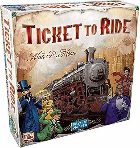 games vision TICKET TO RIDE Strategy & War Games Board Game