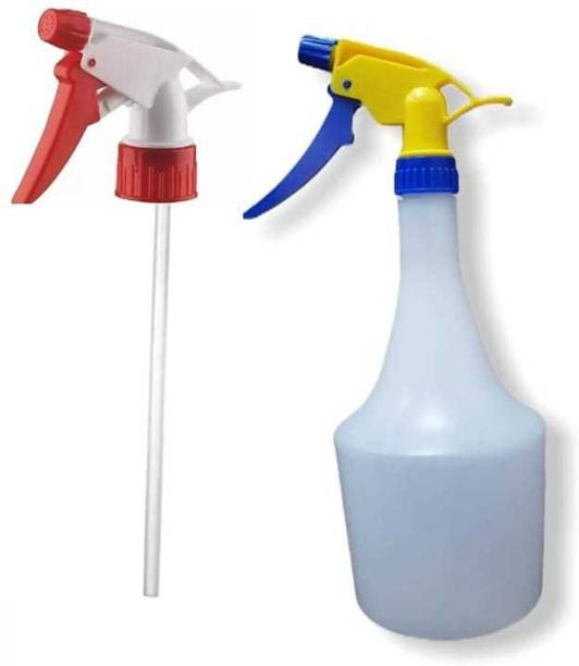Gadar 1pc empty spray bottle with 1 pc extra nozzle ,used for sanitizer,water spray 1000 ml Spray Bottle