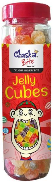 CHASKA BITE |Jelly Candies|Cubes|Soft|Fruit Flavoured| Fruit Jelly Candy