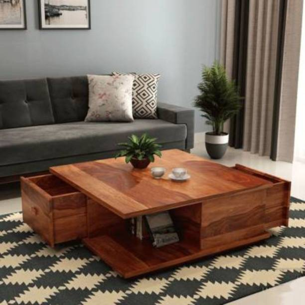 Credenza Solid Wood Coffee Table