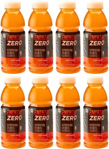 Enerzal Zero Energy Drink 100 Ml (Pack of 8) Energy Drink