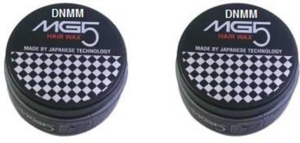 DNMM MG5 Hair Wax For Hair Styling Japanese Technology (200 Gram) Pack 2 200 gm Hair Gel (200 g) Hair Wax