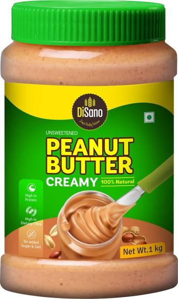 DiSano Unsweetened Peanut Butter Creamy 1 kg
