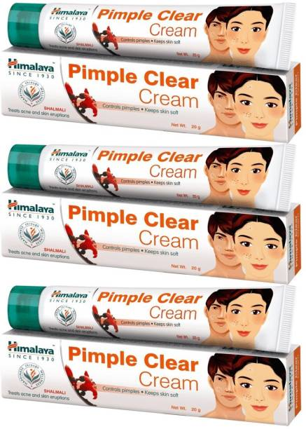 HIMALAYA Pimple Clear Cream - 20g (Pack Of 3)