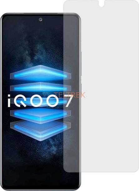 TELTREK Tempered Glass Guard for VIVO IQOO 7 V2049A (Matte Flexible Shatterproof)