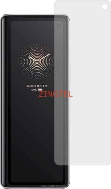 ZINGTEL Tempered Glass Guard for XIAOMI MI MIX FOLD (Matte Flexible Shatterproof)