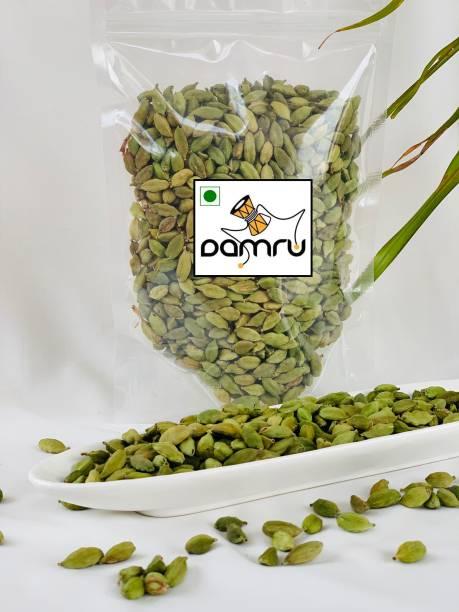 Damru Green Cardamom (Medium size) | Elaichi |Hari Ilachi