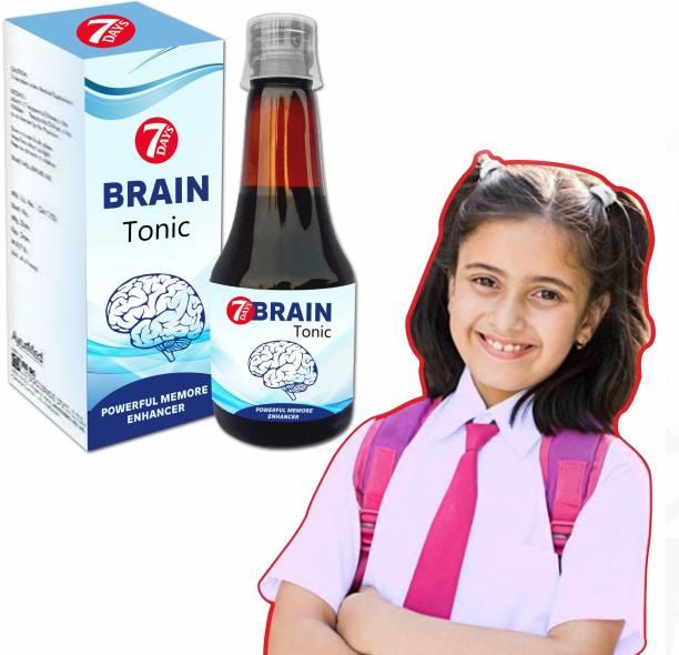 7 Days Extra memory Brain Tonic Syrup