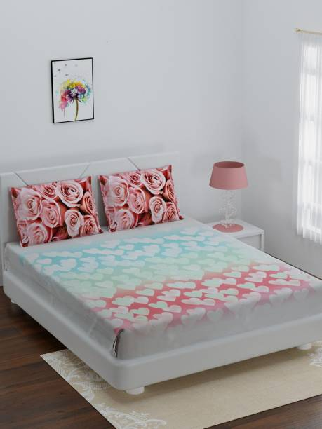 Bombay Dyeing 180 TC Cotton King 3D Printed Bedsheet