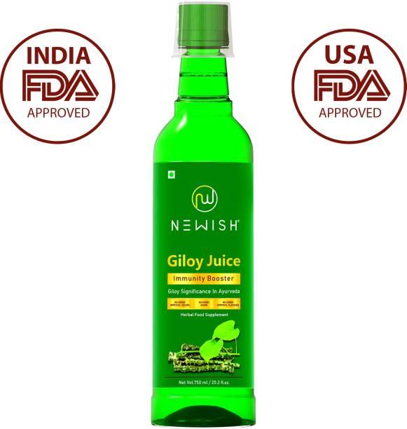 NEWISH Giloy Juice Ras Immunity Booster