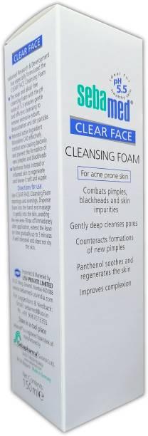 Sebamed Clear Face Foam   For Acne Prone Skin Face Wash