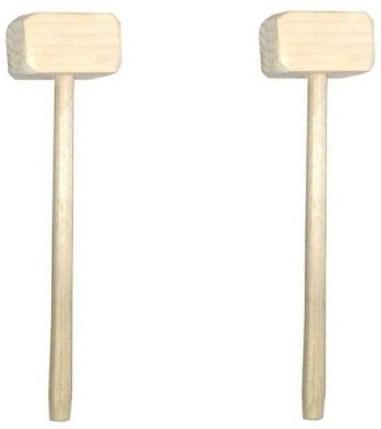 Tuelip Set of 2 Pinata Cake Wooden Speciality Hammer