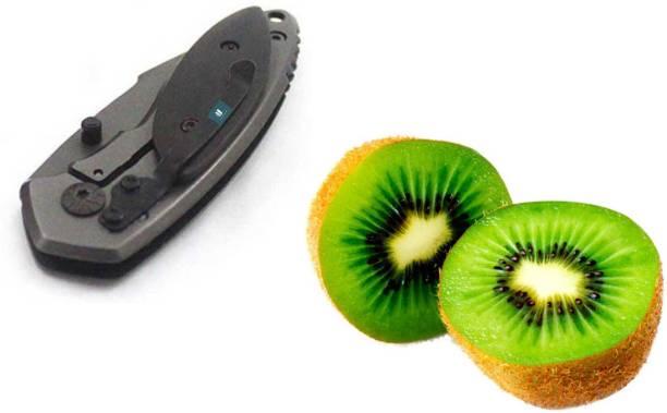 Jakha SBPR_789890 Black Multi-Purpose Pocket Knife and Kitchen Knife High Quality Steel Blade Lasting Sharp Knives for Cutting Fruits, Vegetable, Etc.| Stainless Steel Knife Stainless Steel Knife
