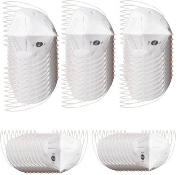 Halo N95 - 5 Layer Protective Mask Without Breathing Valve (Pack of 50)