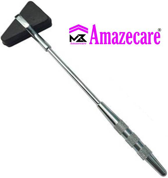 AMAZECARE Medical Knee Hammer Surgical Hammer Triangular Taylor Pattern Orthopedic Medical Surgical Hammer Use For Doctors & Medical Students Medical Hammer Medical Hammer