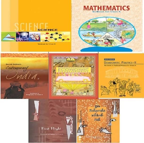 NCERT Books Set Class 10 (English Medium