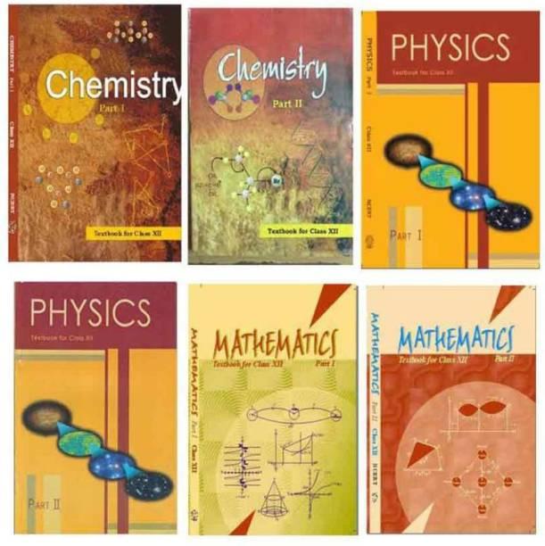 Physics Chemistry Math Ncert Set Of 6 Books Class12