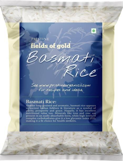 PRISTINE Fields of Gold Basmati Rice (Long Grain, Polished)