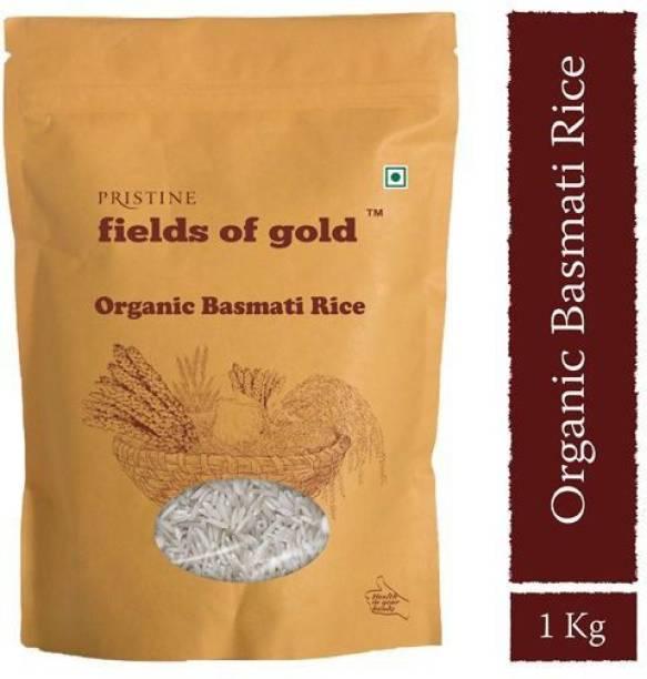 PRISTINE Fields of Gold Organic Basmati Rice (Long Grain, Polished)