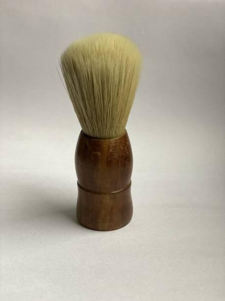 Osking  (Wooden handle) Soft & Absorbent Bristles & Long Handle  for Men Shaving Brush