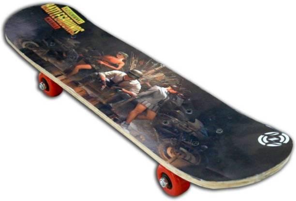FIVARA PUBG SKATEBOARD 6 inch x 24 inch Skateboard