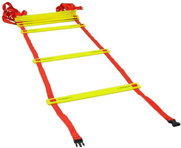Spocco ®Ladder Agility Training Ladder Speed Flat Rung with Carrying Bag LB36 Speed Ladder