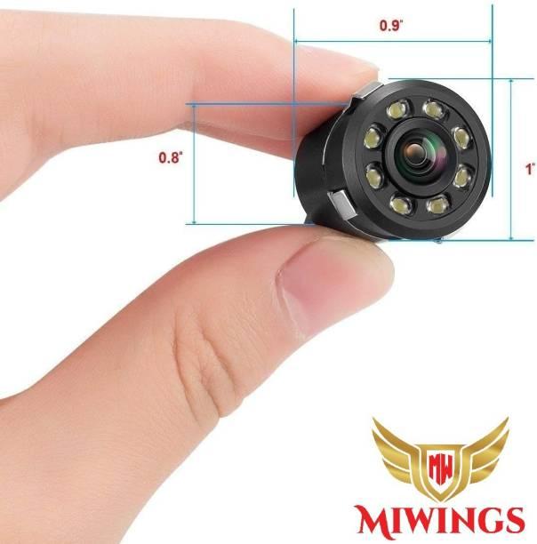 Miwings LED Night Vision Waterproof Reverse Parking Vehicle Camera CAR CAMERA 8 LED BACK CAMERA Vehicle Camera System
