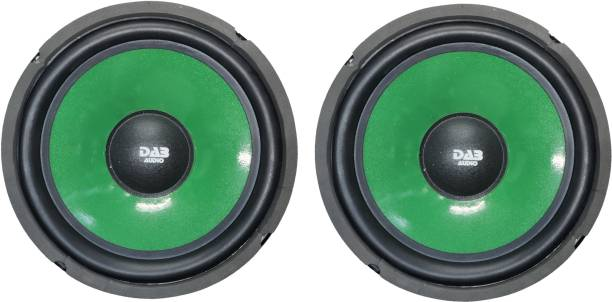DAB Green & Black Colored Pair 9017 Magnet 2 pieces Woofer Subwoofer