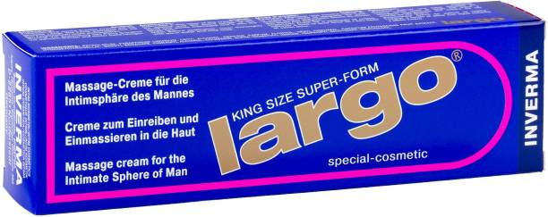 THE NIGHT CARE Largo King Size Intimate Massaging cream For Men Lubricant