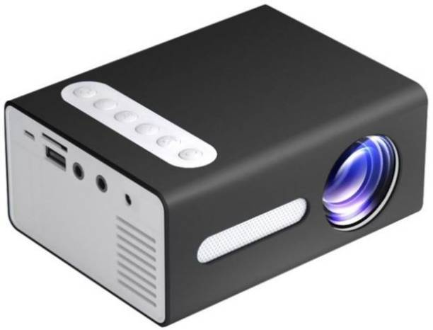 Shopexo T300 Black 800 lm LED Corded Mobiles Portable Projector
