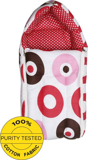 Miss & Chief Baby Elephant Pink Sleeping Bag