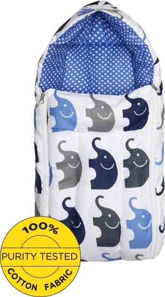 Miss & Chief Baby Sleeping Bag Elephant Blue Sleeping Bag