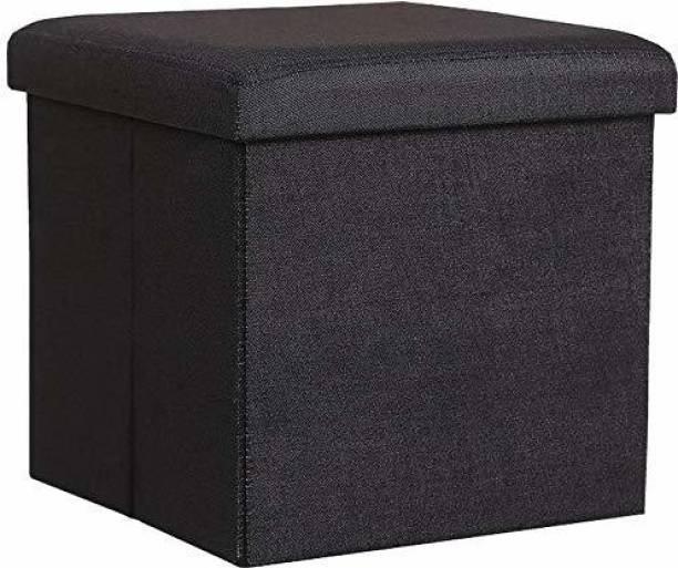 RAMBHAKTA Stools for Sitting in Living Room Storage Stools for Sitting Storage Box for Toys of Kids - Foldable Stool (38 x 38 x 38 cm) Living & Bedroom Stool