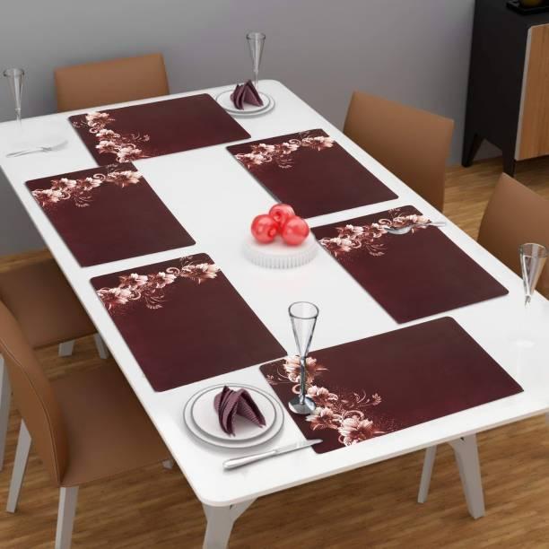 Flipkart SmartBuy Rectangular Pack of 6 Table Placemat