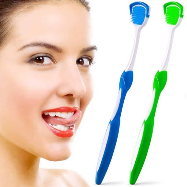 CRAZYGOL Plastic Tongue Cleaner