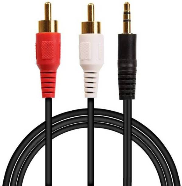 Bellara  TV-out Cable Aux to 2RC Cable for Audio Video Music Transfer