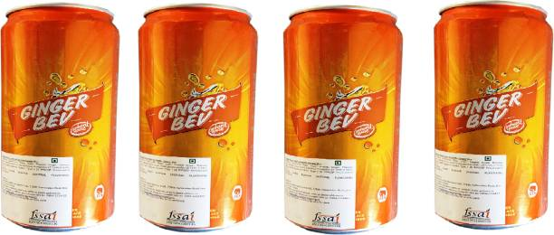 Elephant House Non-Alcoholic Ginger Bev (Imported) Pack of 4 Can