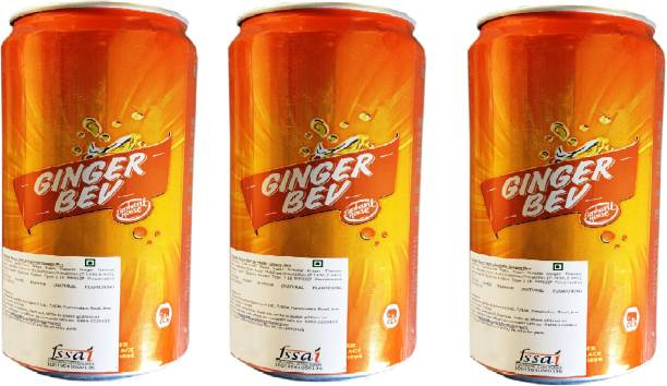 Elephant House Non-Alcoholic Ginger Bev (Imported) Pack of 3 Can