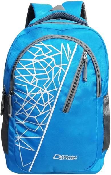 DREAMZ STYLISH Sky0786 Waterproof School Bag