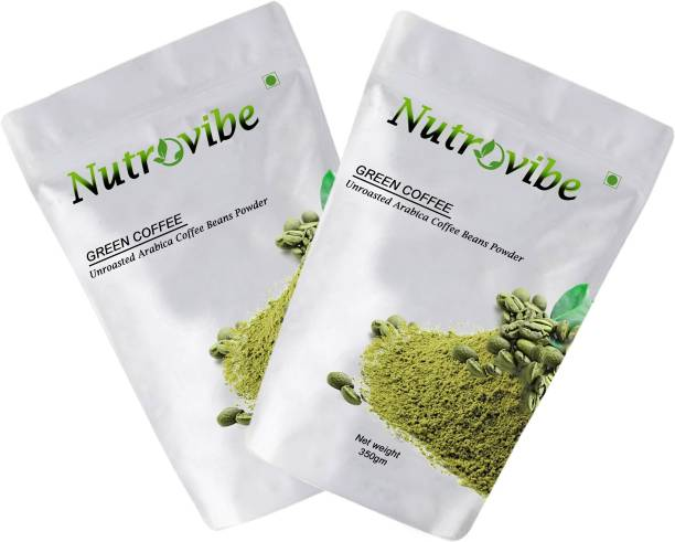 Nutrovibe Green Coffee Beans Powder for Weight Loss Instant Coffee